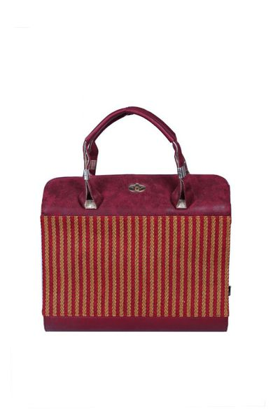 Maroon Casual Bag DSB-386 by GulAhmed