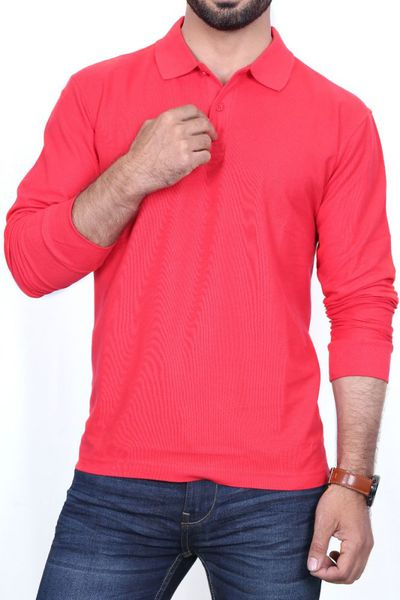 Red Signature Polo FS-PKP-SIG-1 by GulAhmed