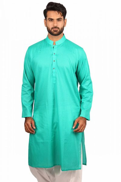 Sky Blue Plain Kurta KP-1298 by GulAhmed