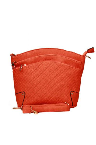 Orange G-Woman Casual Bag - 8200 by GulAhmed