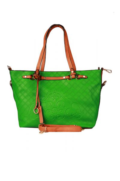 Green G-Woman Casual Bag - L2037 by GulAhmed