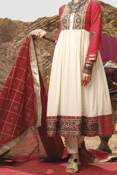 New Arrivals <br> Festive Collection 2018 <br> 2Pc Stitched Collection - Shawai by Almirah