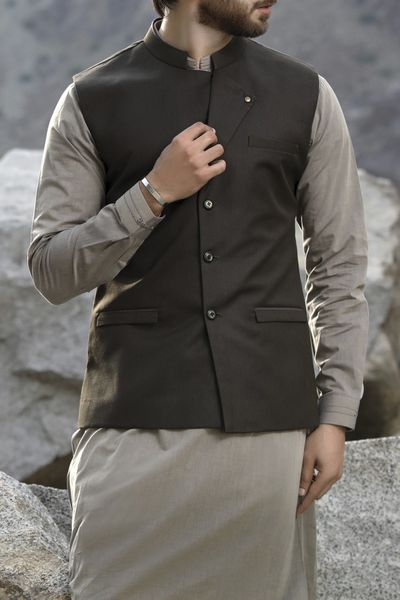 New Arrivals <br> Men Journey Collection 2018 <br> Waist Coat Collection by Almirah