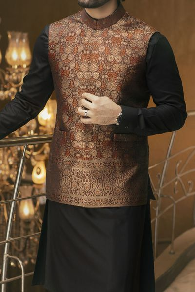 Waist Coat by Junaid Jamshed