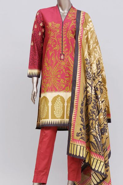 JJPW-W-JW-16-001/B FB/Gold Red-2 by Junaid Jamshed
