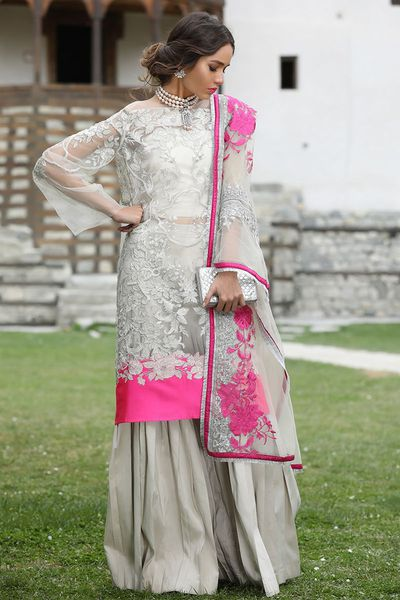 unstitched fabric<br>luxury collection by Sana Safinaz