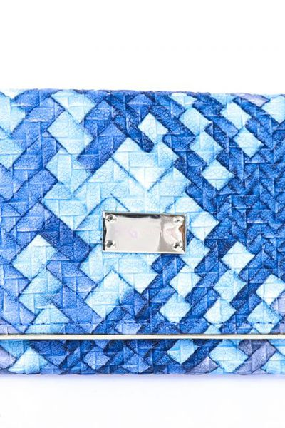 Blue Casual Clutch -01-17 by GulAhmed