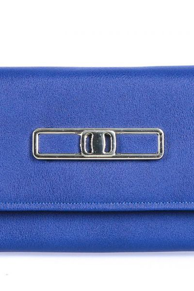 Blue Casual Clutch -01-23 by GulAhmed
