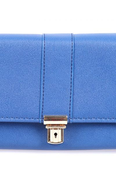 Blue Casual Clutch 01-21 by GulAhmed