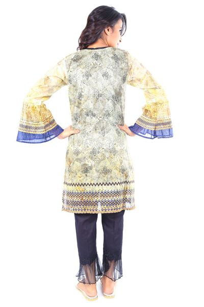 Multi 1 Pc Printed Lawn Shirt GLS2-18-001 by GulAhmed