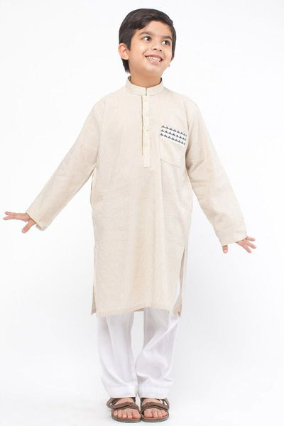 Embroidered Kurta by Khaadi