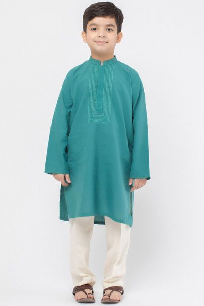 Embroidered Kurta Pajama by Khaadi