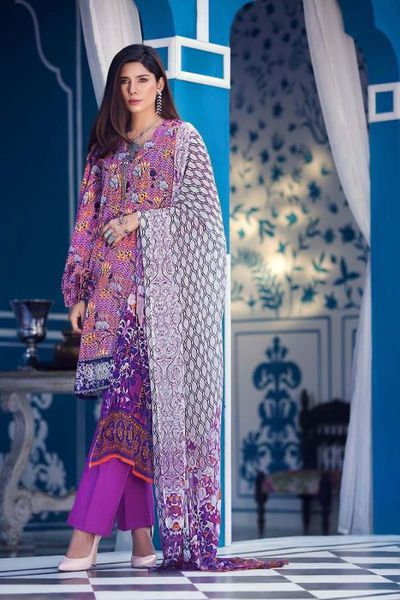 Women <Br> Stitched Fabric <Br> Stitched Suits by GulAhmed