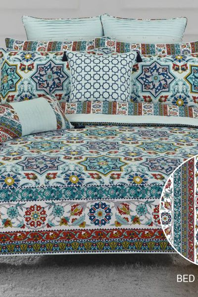 Ideas Home <Br> Bed Sheets <Br> Printed Sheet Set by GulAhmed