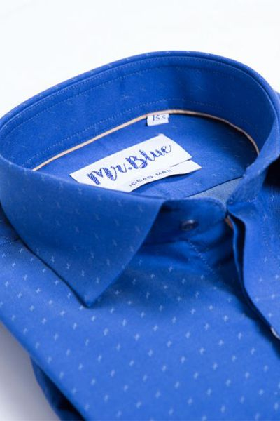 Bremen -Blue  Formal Shirt Slim Fit CM-YD-2171 by GulAhmed