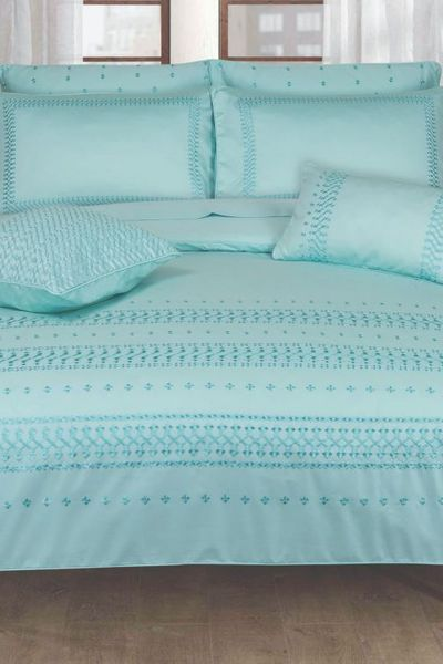 Ideas Home <Br> Bed Sheets <Br> Dyed Duvet Cover by GulAhmed