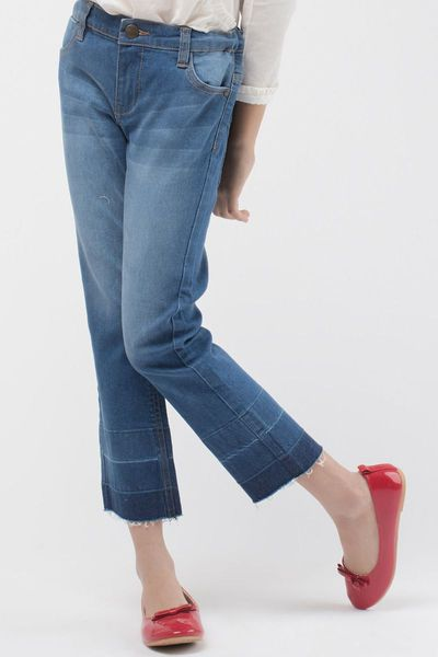 Straight Fit Jeans by Khaadi