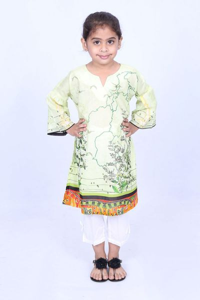 Multi 1 Pc Printed Lawn Shirt GLS-18-116 KIDS by GulAhmed