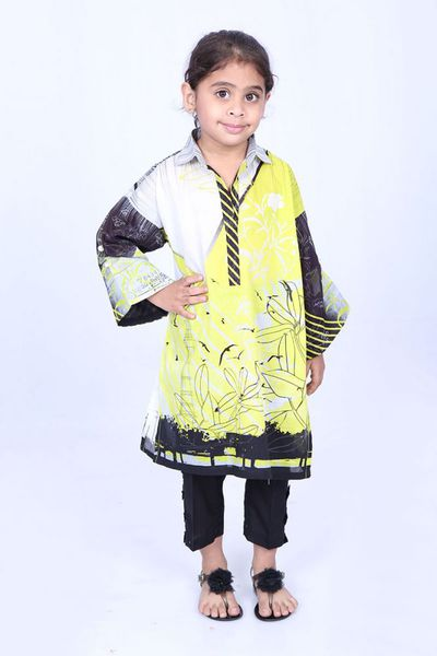Multi 1 Pc Printed Lawn Shirt GLS-18-120 KIDS by GulAhmed
