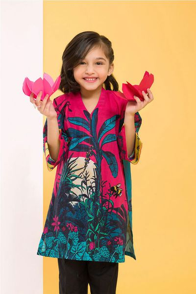 Multi 1 Pc Cambric Shirt GLW-17-90 KIDS by GulAhmed