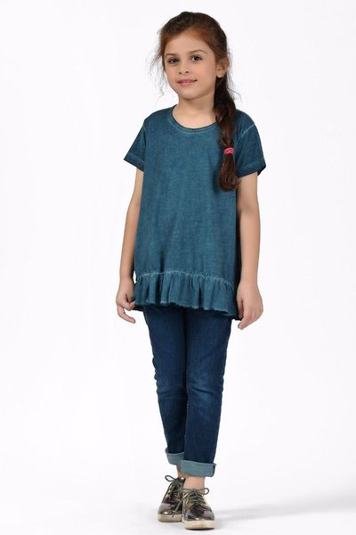 Frilly Shirt by Khaadi