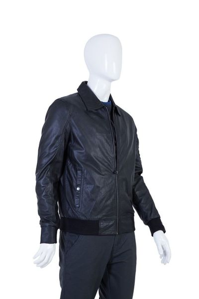 Black Leather Jacket JKT-002 by GulAhmed
