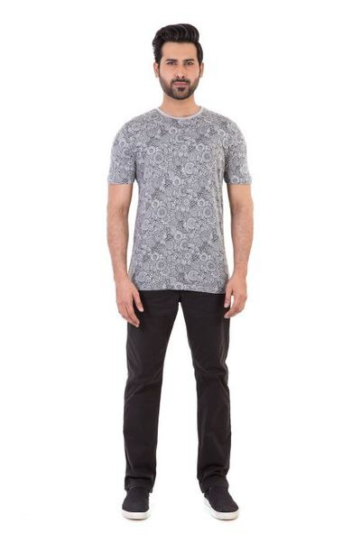 Mens Clothes <Br> Western <Br> Mens T Shirts by GulAhmed