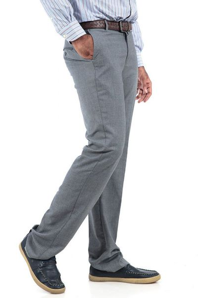 Grey Formal Trousers - PR-016 (CF) by GulAhmed