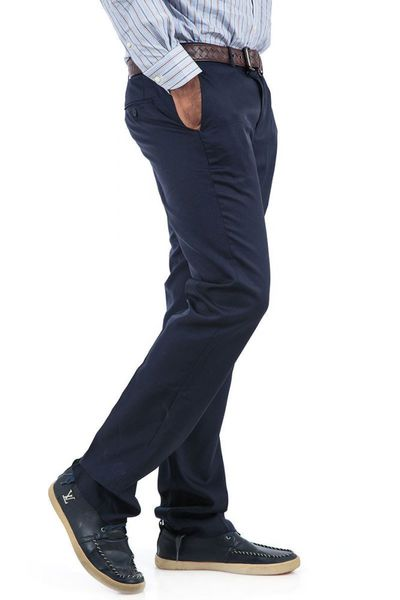 Navy Formal Trousers - PS-003 (CF) by GulAhmed