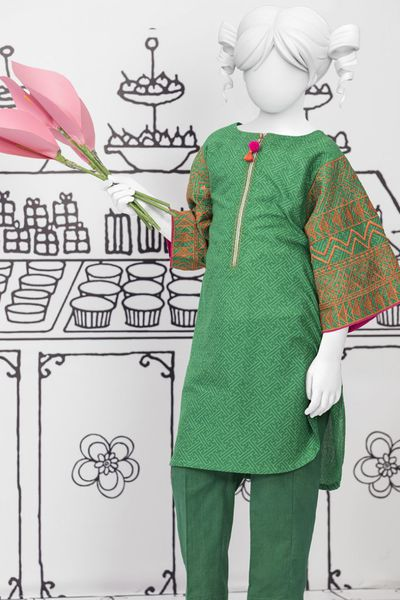 Girls 2 Piece by Junaid Jamshed