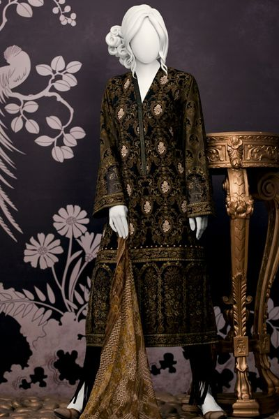 Unstitched Suit by Junaid Jamshed