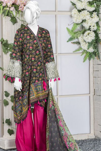 Lawn 3 Piece Stitch by Junaid Jamshed