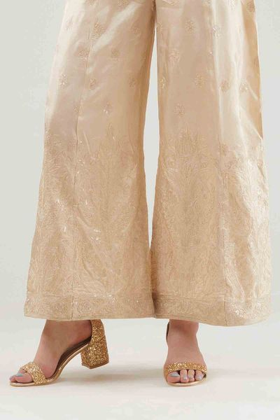 Khaas Formal Flared Panel Pants by Khaadi