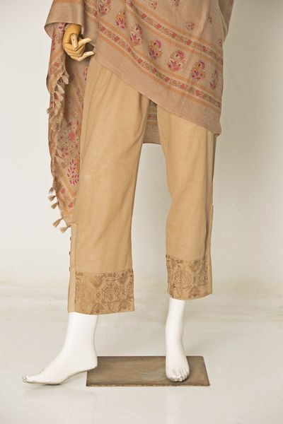Dyed & Embroidered Trouser by Kayseria
