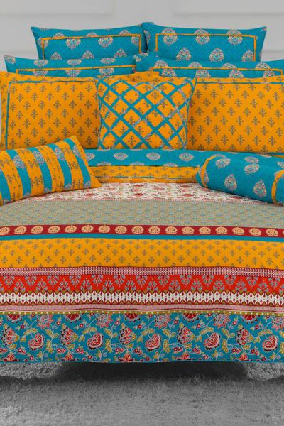 MARI GOLD T-150 Quilt Cover Set by GulAhmed