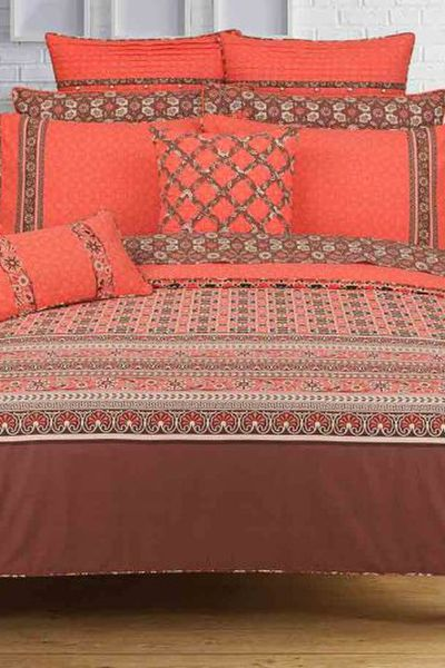 Ideas Home <Br> Bed Sheets <Br> Throw by GulAhmed