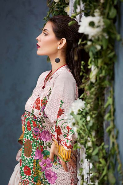 Light Pink 3 Pc Stitched Suit SS-170 by GulAhmed