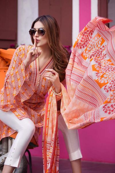 Multi 2 Pc Stitched Suit TL-103 A by GulAhmed