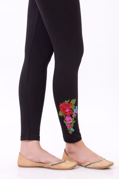 Embroidered Tights by Khaadi