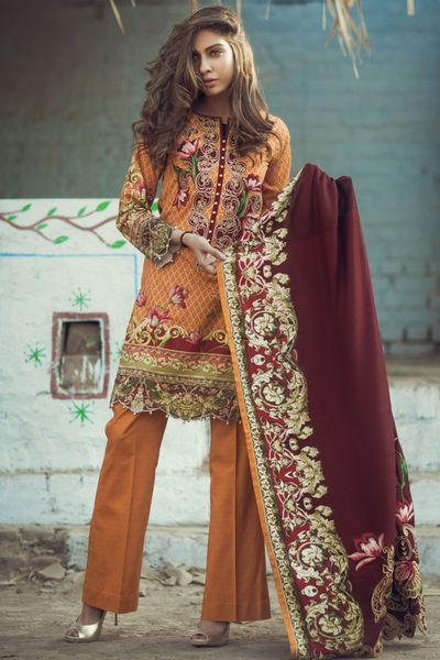 Winter Suit by Firdous Cloth