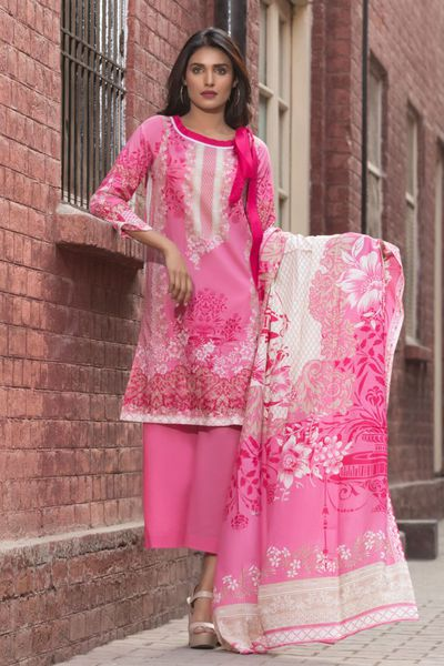 Collection Lawn 18 by Firdous Cloth