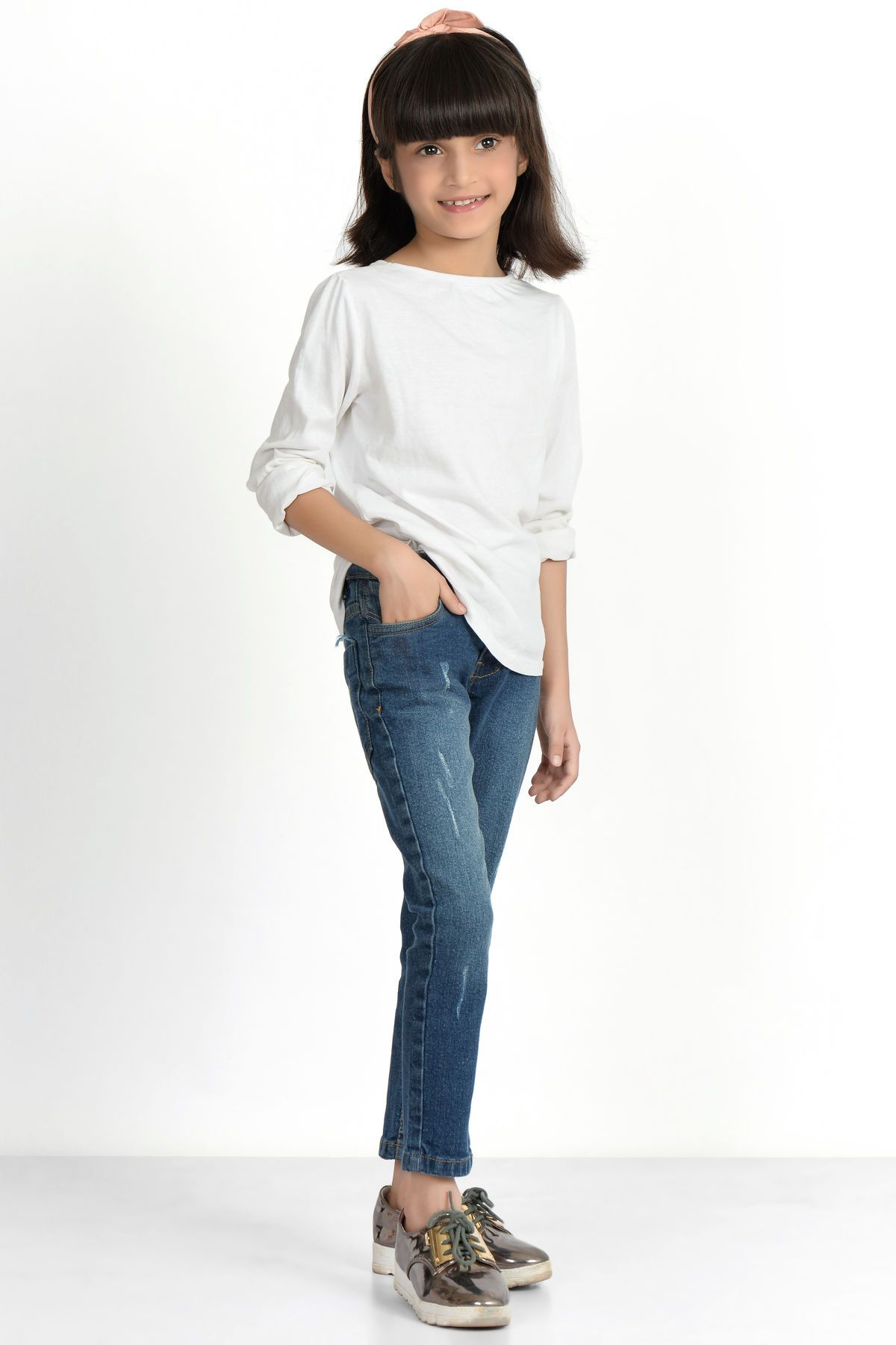 Slim Fit Jeans by Khaadi